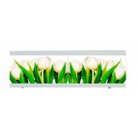 Экран под ванну The MIX I-screen light Крепыш Белые тюльпаны 180 см