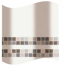 Blind for the bathroom  brown mosaic 180 * 180 sm
