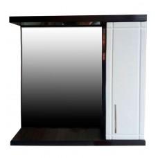 Mirror cabinet Mikola-M WENGE 2.0 right width 70 cm