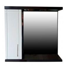 Mirror cabinet Mikola-M WENGE 2.0 left width 70 cm