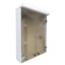 Mikola-M Eco green Z-2 mirror plastic with shelves 60 sm