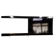 Bath screen The MIX i-screen light Black Liami 120 cm