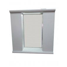 Mikola-m mirror with two cupboards 80 cm
