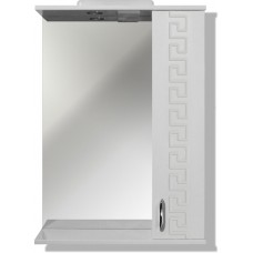 """The MIX mirror in the bath """"Themix-Greece"""" 50 cm LED backlit"""