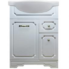 The MIX cabinet in Themix-Classik-2 bathtub with ceramic washbasin 60 sm